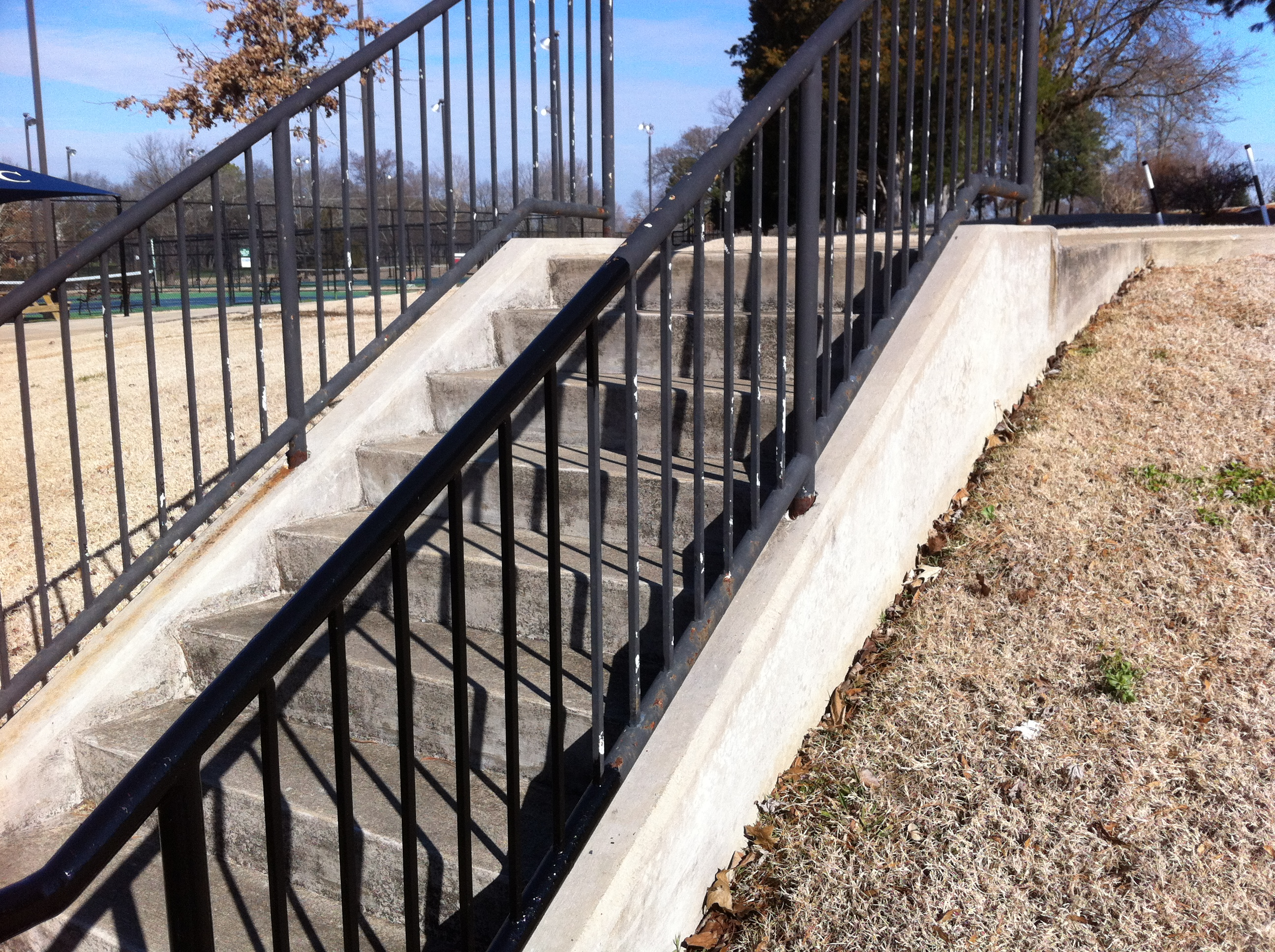 Clubhouse Railing