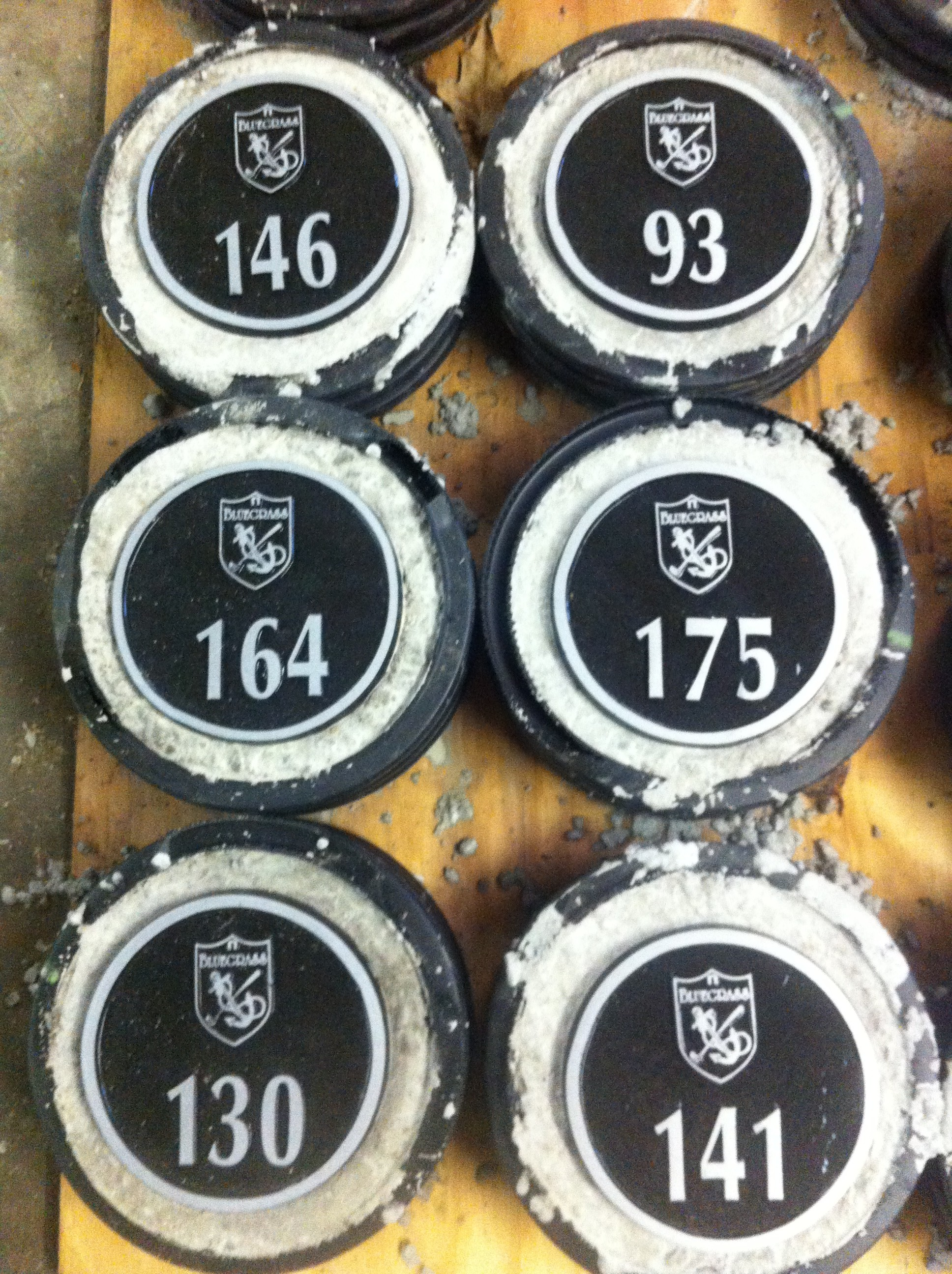 Yardage Plates Ready for the Tees