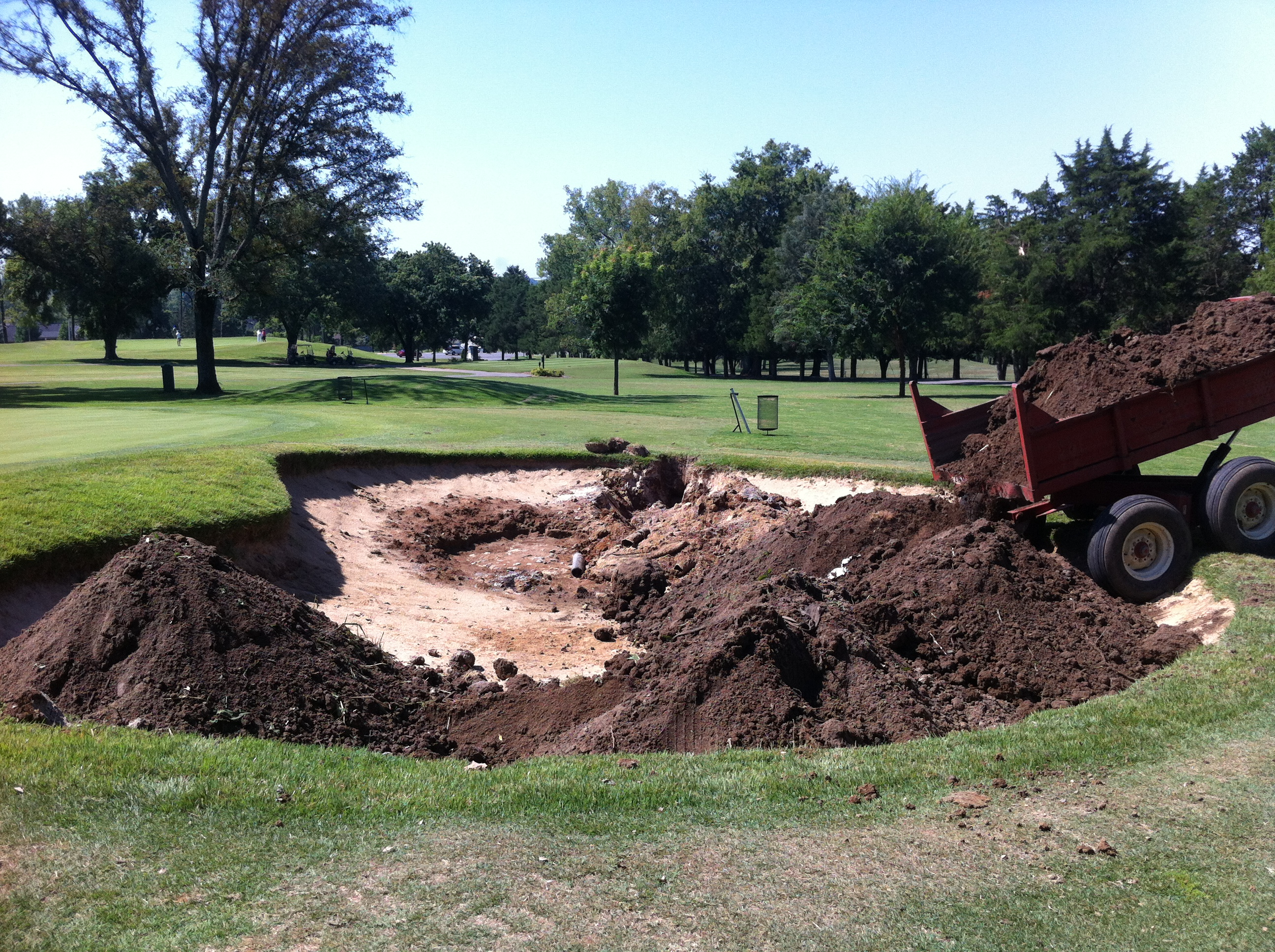 Chipping Green Bunker