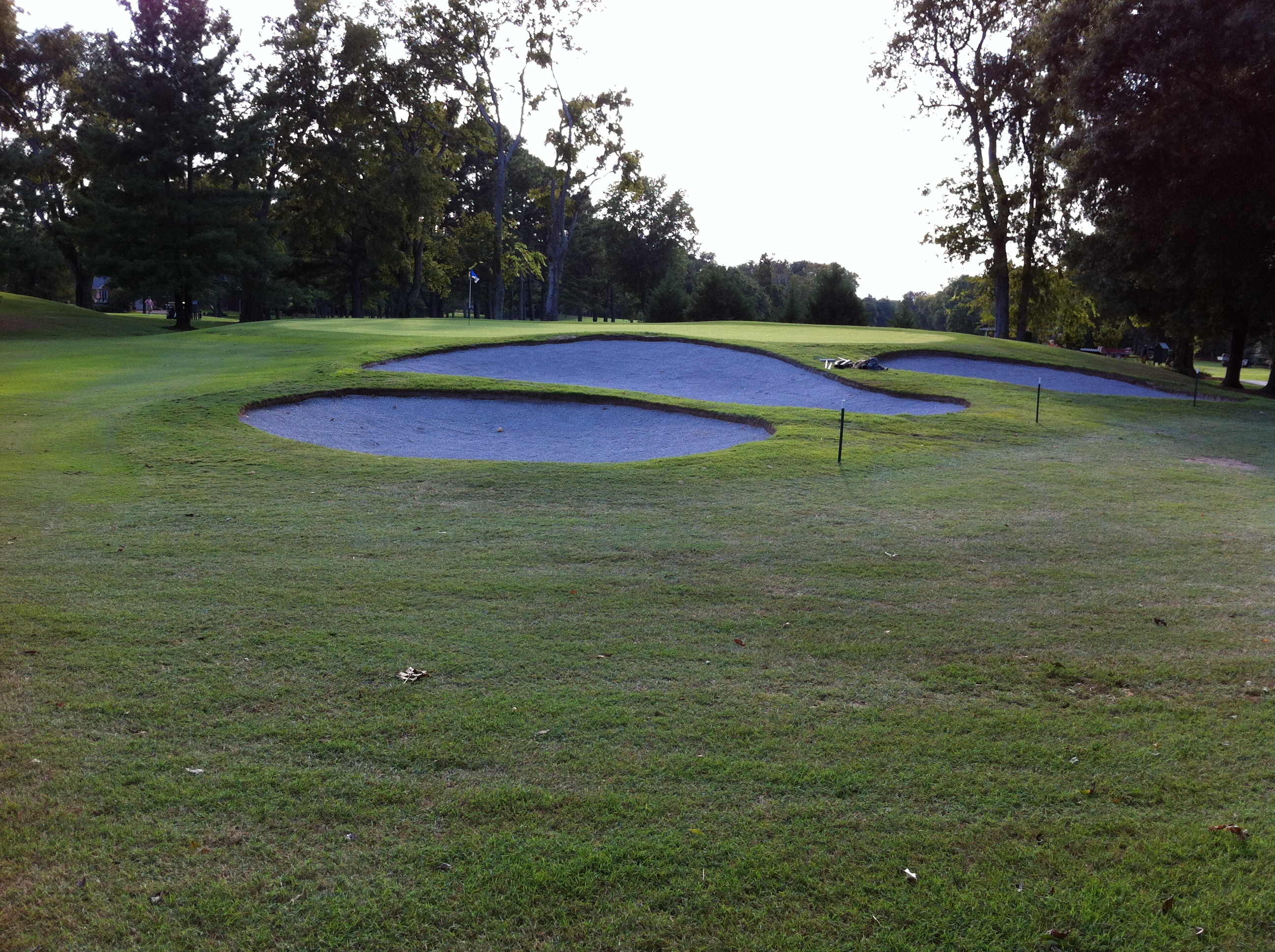 #17 Bunkers Completed