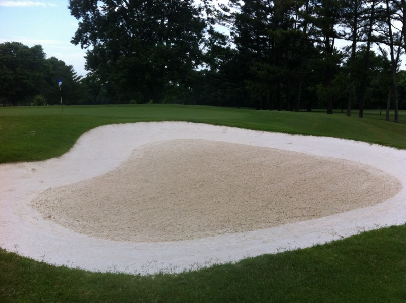 Rolled/Raked Bunkers